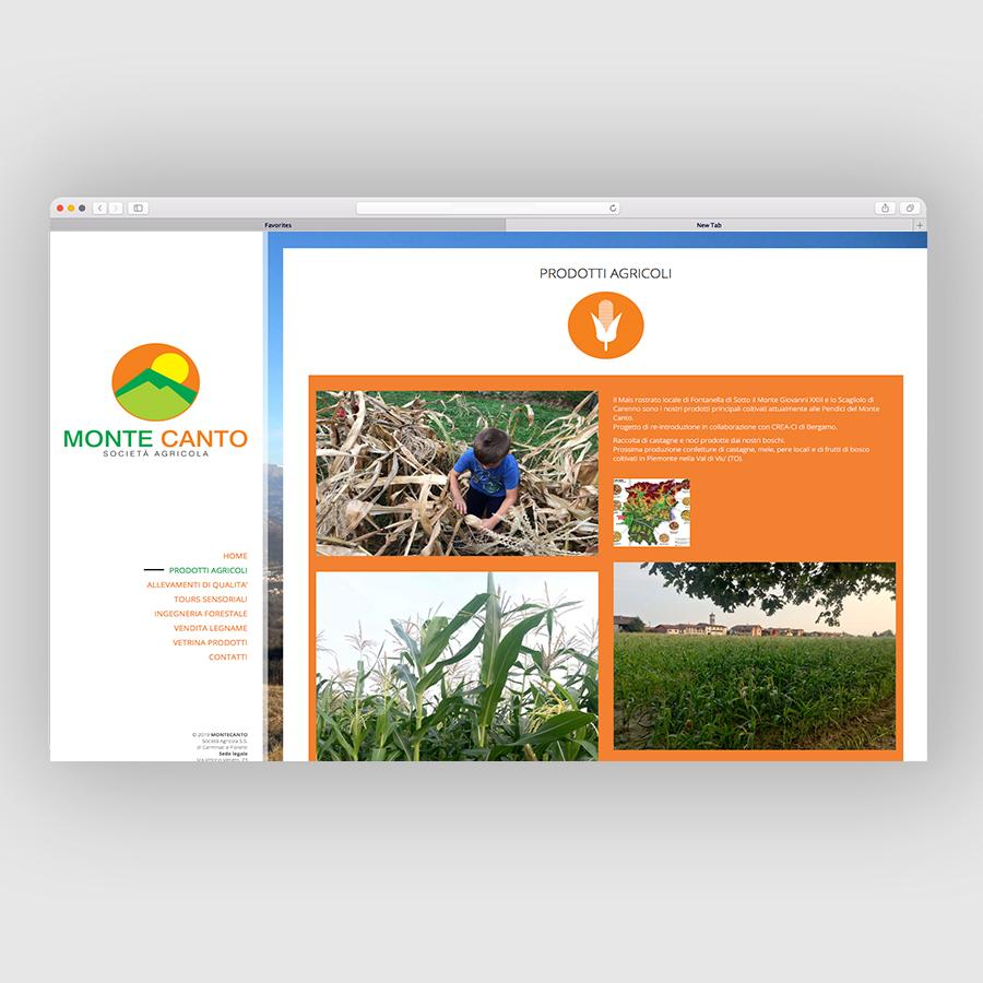 Azienda Agricola Montecanto | 23Studio | Creative agency | Bergamo