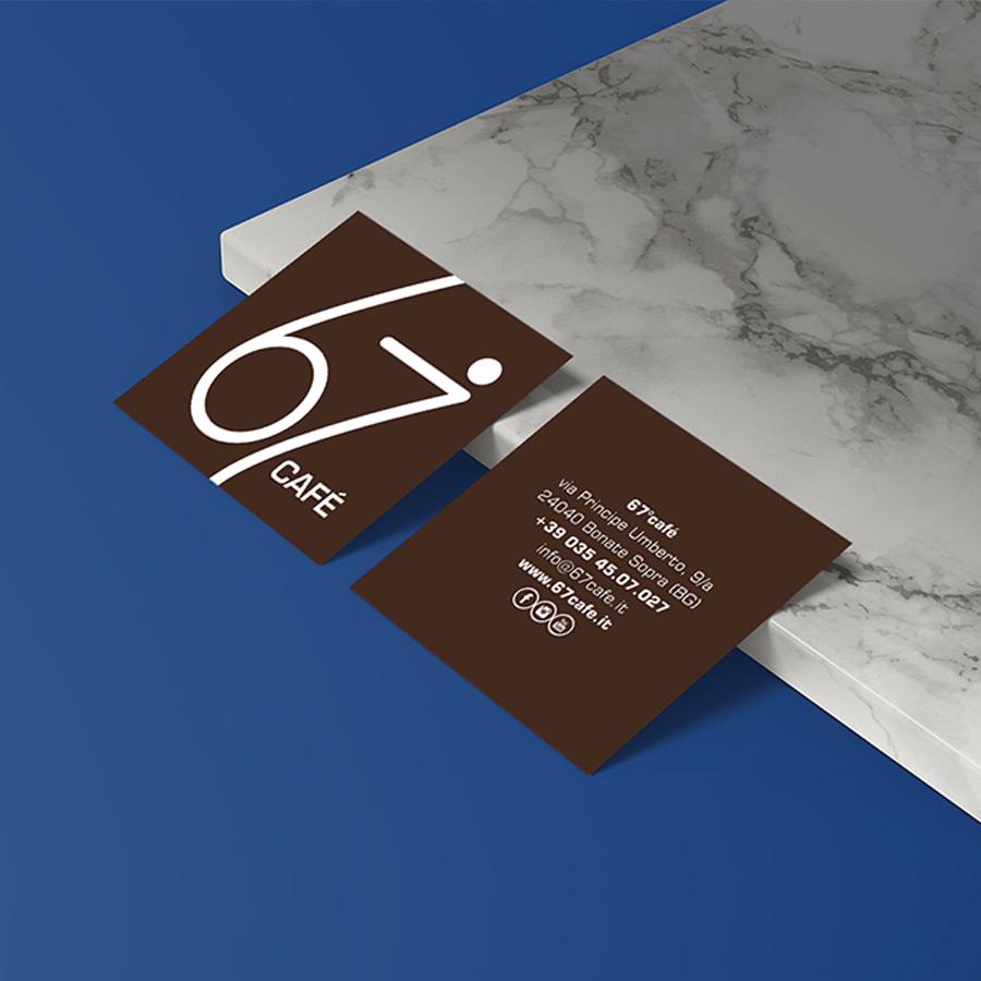 67 Café | 23Studio | Creative agency | Bergamo